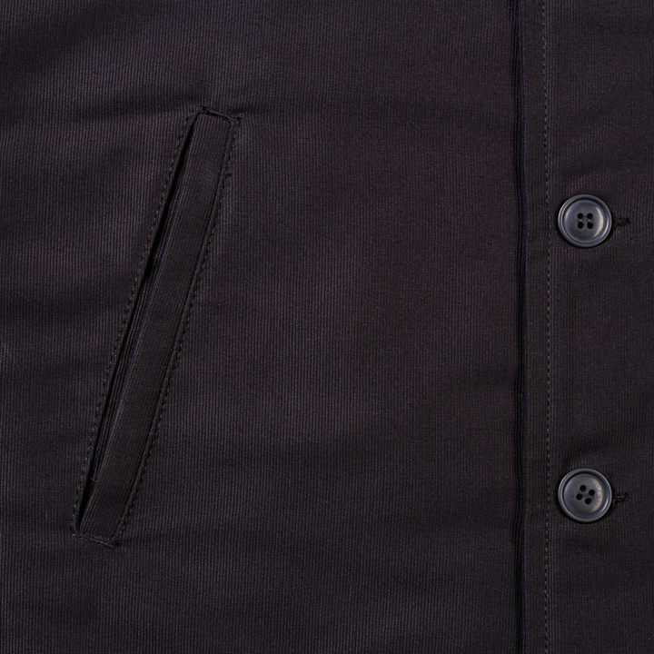 1944 N1-Deck Jacket faded black (jacka)