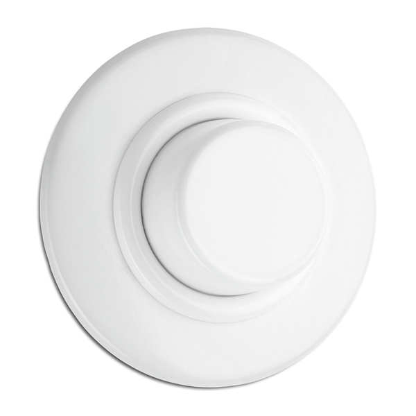 Dimmer LED vit bakelit med ring 5-85 Watt & 20-250 W/VA